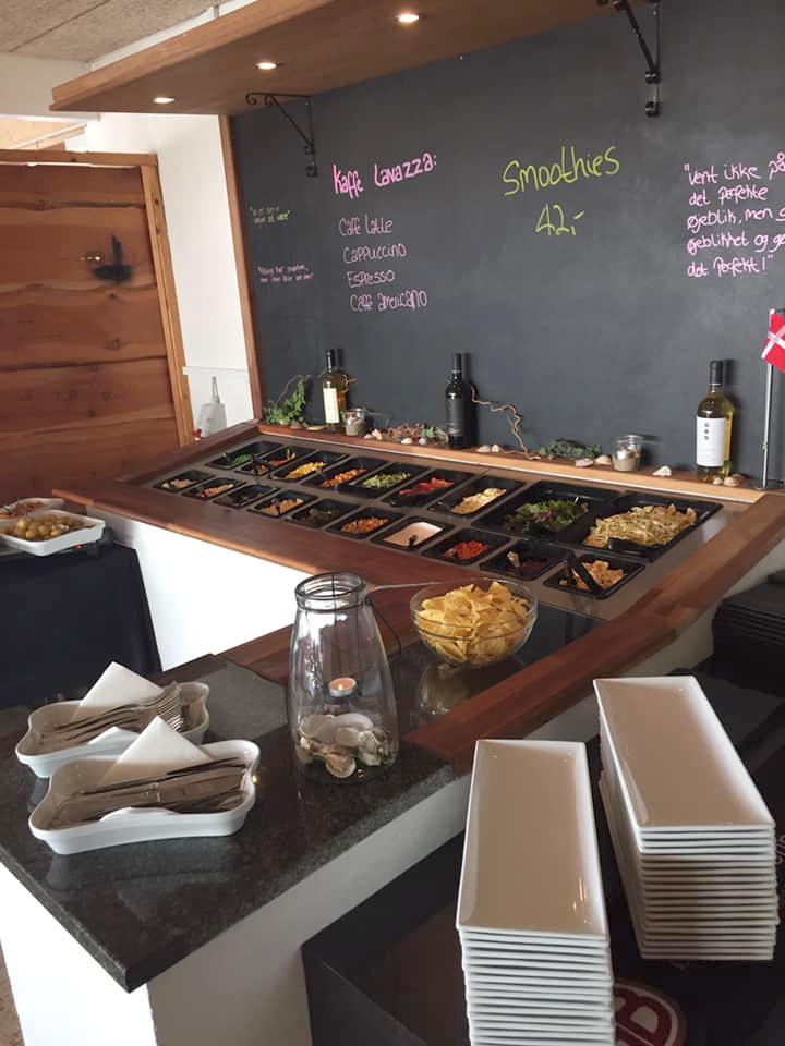 Buffet hos Cafe Jambo